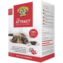 Dr. Elsey's Precious Cat Attract Unscented Clumping Clay Cat Litter, 20-lb Box.