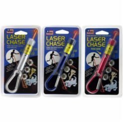 Pet Sport Laser Multi color, silver, blue and red.