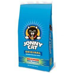 Jonny Cat Original Scented Clumping Clay Cat Litter, 10-lb Bag.