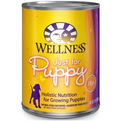 Wellness Complete Health Just for Puppy Canned Dog Food, 12.5-oz, Case of 12.