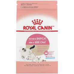 Royal Canin Mother & Babycat Dry Cat Food for Newborn Kittens, Pregnant & Nursing Cats, 3.5-lb.